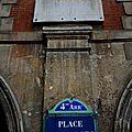 Paris, place des Vosges, maison Victor Hugo