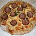 Pizza normande ( viroise)