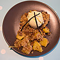 Crumble ananas/spéculoos