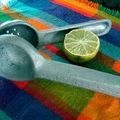 Du jus de citron frais.