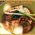 Boeuf rendang de sumatra