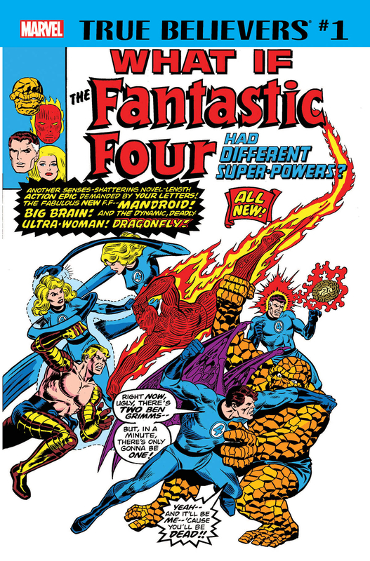 true belivers what if the fantastic four had different super powers