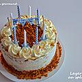 Layer cake au spéculoos