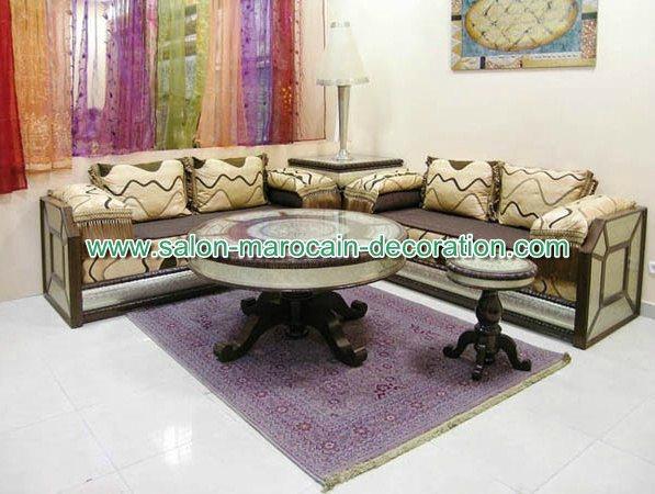 Les modèles de salon marocain oriental - Salon du Maroc et décoration