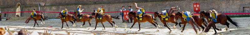 Historique de la Voltige Cosaque La Djiguitovka (Arts du cirque) une épreuve de bravoure des cavaliers d'élite