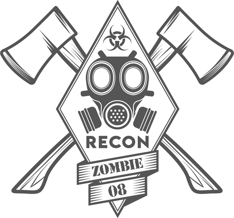 Zombie - zombie outbreak - Zombie party - Zombie response - Zombie hunter - Zombie team - biohazard - Printables - labels - Halloween - Recon - Special forces