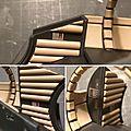 Deagostini MF 252 Maintenant, je mets en place les coussins et les décals sur les Paragrafix...