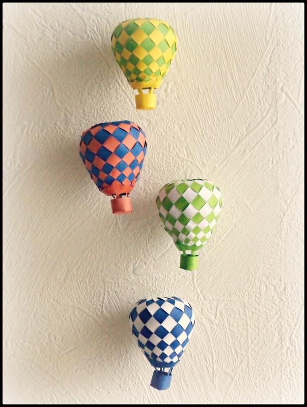 montgolfières Cam&Drey bricolent