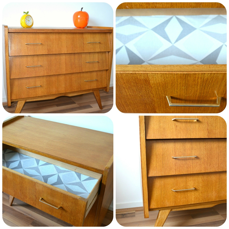 commode scandinave Collage