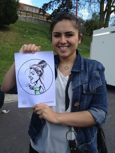 caricature fille moselle