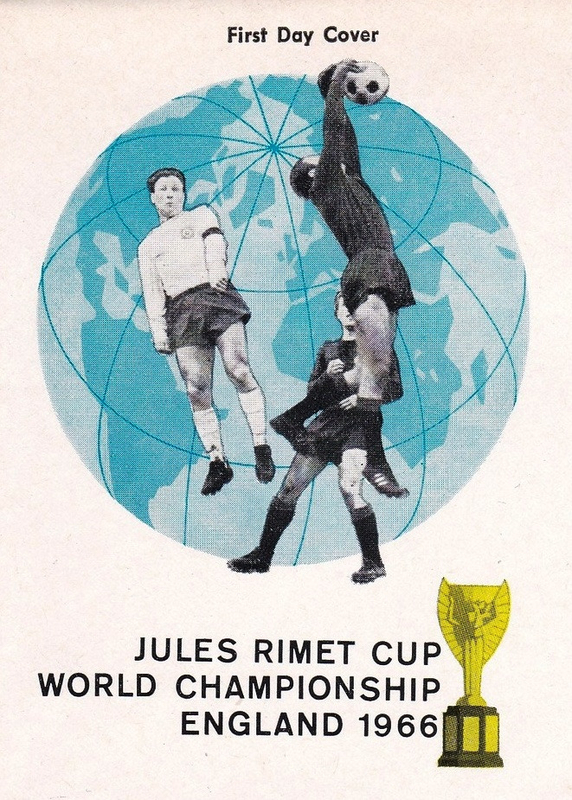 Eveloppe Jules Rimet Cup England 1966 R