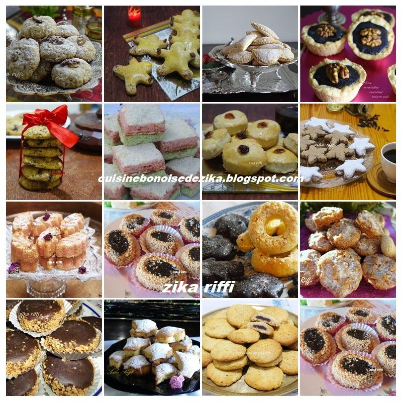 biscuits, gâteaux et petits fours fêtes et nouvel an