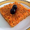 Salade de carotte a la tusienne ( ommek houria)