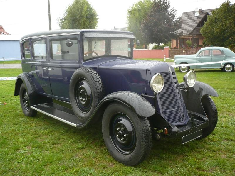 RENAULT KZ4 limousine 5 places 1930 Rustenhart (1)