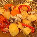 Poulet basquaise vite fait, recette tupperware pour l'ultrapro
