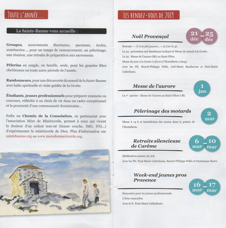 3 Programme Ste Baume
