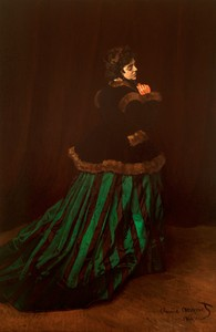Monet__Lady_in_a_Green_Dress__Camille_