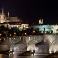 Le Château de Prague, la nuit...
