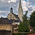 Église notre-dame de saint-calais (sarthe) - extérieur