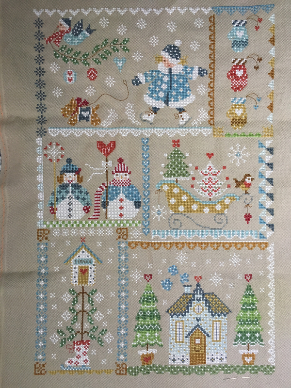 Plaid Winter in Quilt de Cuore y Batticuore (32)