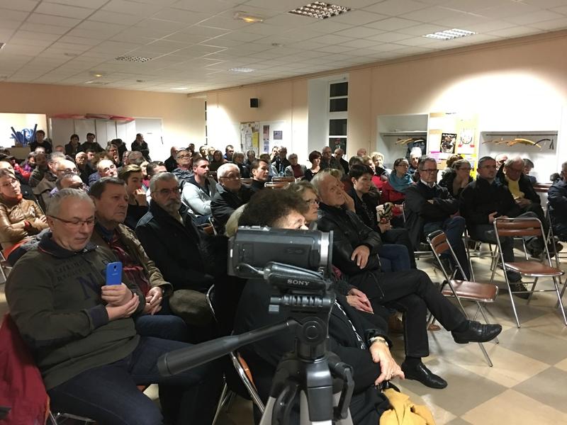 Thomas Collardeau candidat DVD élections législatives 1017 réunion Avranches 8_12_2016 public