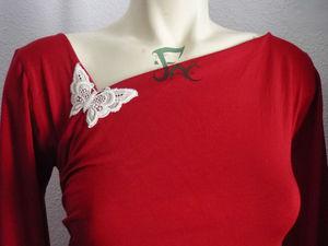 Robe bambou rouge (4)