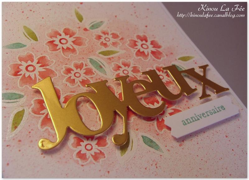 Carte Aquarelle Amour des Fleurs 2