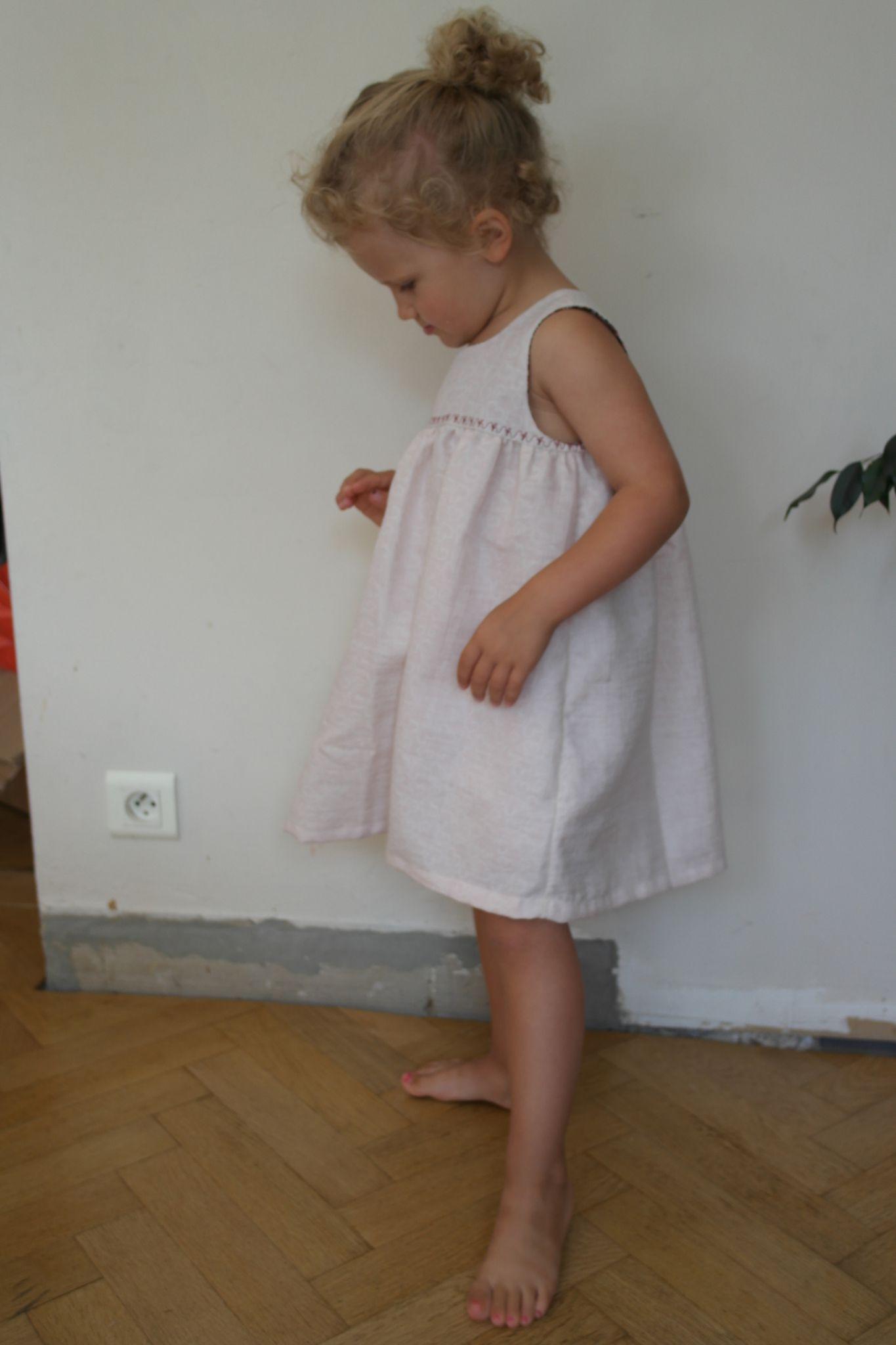 Robe (Burda HS été 2012) et bloomer (Mes petits Habits)