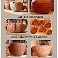ateliers decouverte de la poterie