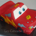 Gâteau cars flash mcqueen #2