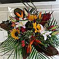 Bouquet exotique....