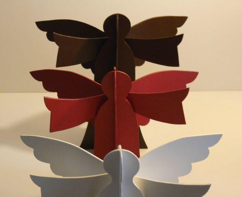 Anges de Noël, déco de table