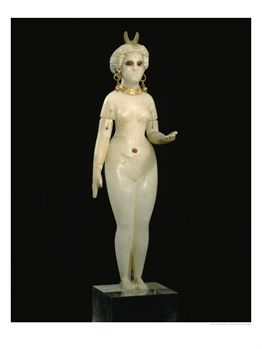 133385_A_Babylonian_Alabaster_Statue_of_Ishtar_the_Goddess_of_Love_Dating_from_350_B_C_Posters