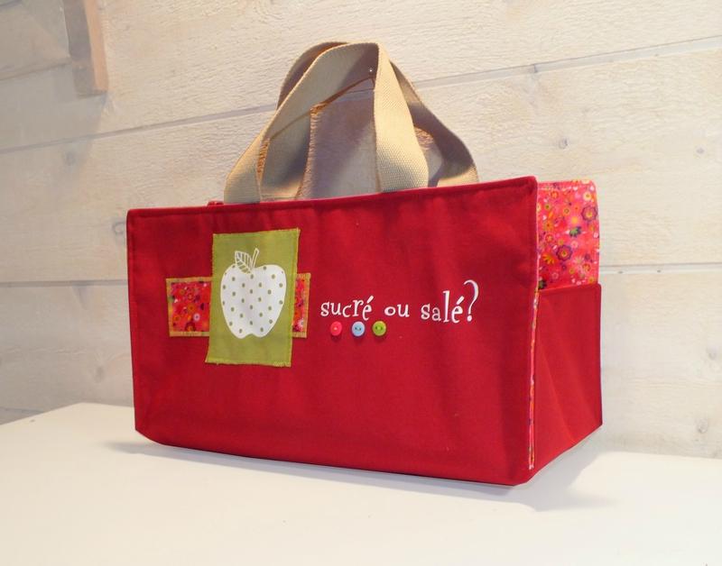sac a cake mamz'elle Parisette rouge
