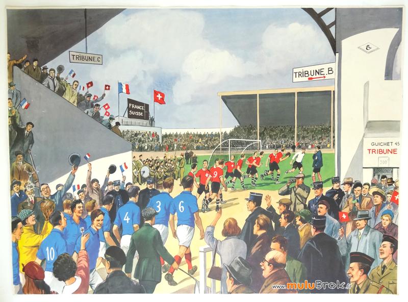 Affiche-Rossignol-MATCH-FOOTBALL-1-muluBrok-Vintage