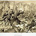 Mès François, combat de Chateaudun