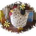 La plus jolie poulette...
