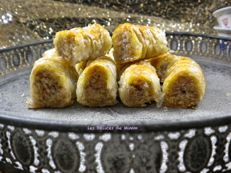 Baklavas libanais aux noix très faciles 3