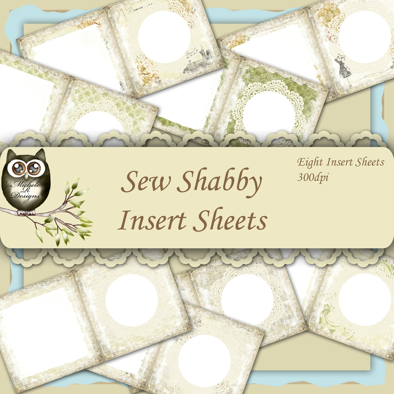 Sew Shabby Inserts Front Sheet