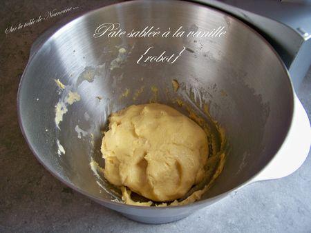 Pâte sablée à la vanille 1