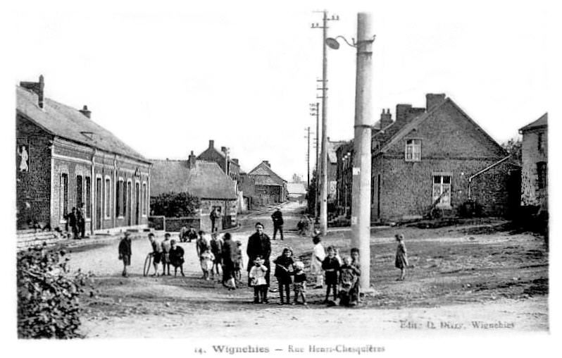 WIGNEHIES-Rue Ghesquiere