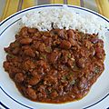 Chili con carne de boeuf authentique
