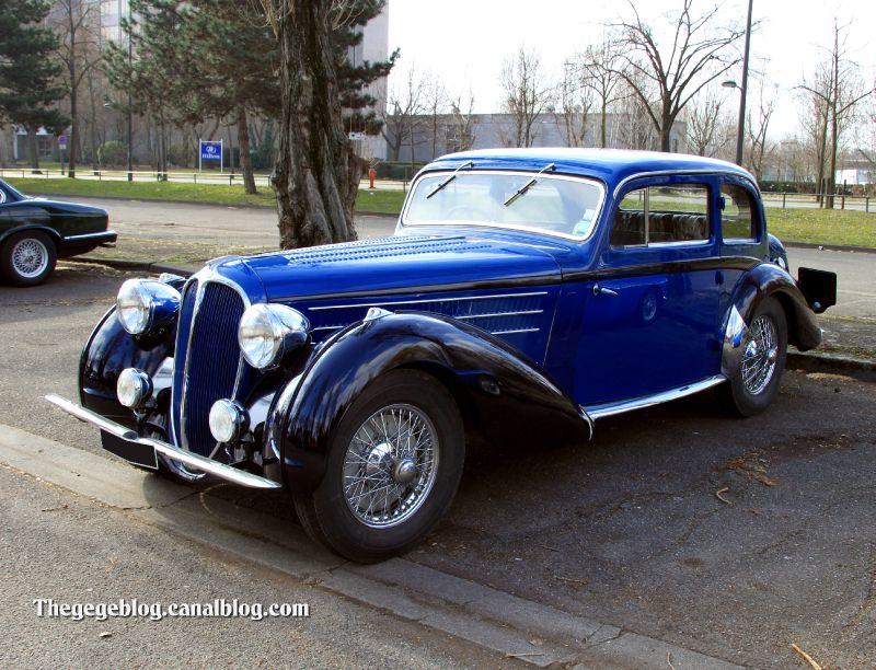 Delahaye type 135M coach guilloré de 1937 (Retrorencard mars 2011) 01
