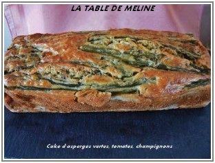 Cake asperges tomates champignons 5