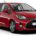 Toyota yaris : les nouveaux tarifs dévoilés !