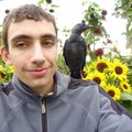 2009 09 02 Le choucas sur les épaules de Cyril Treveys (9)