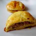 Mini tourte fourzytout (jambon, champignons, poireaux et carré frais)