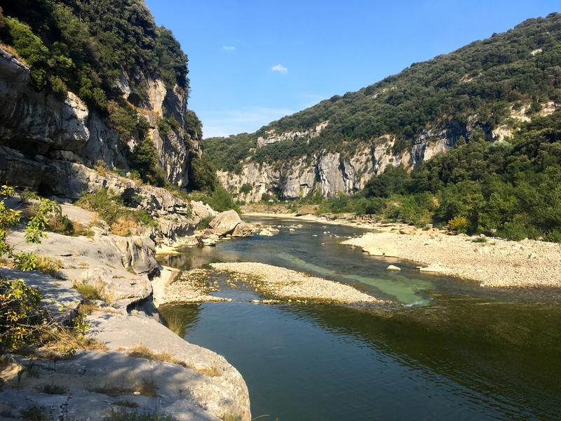 Canot' dans les Gorges de l'Ardèche