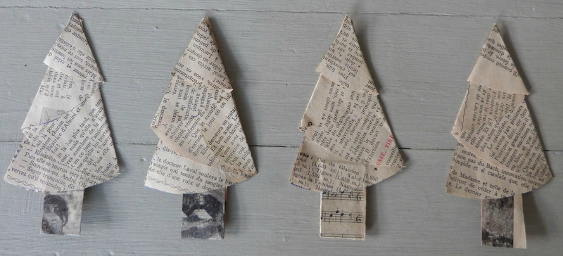 Christmas Tree papier ancien (2a)