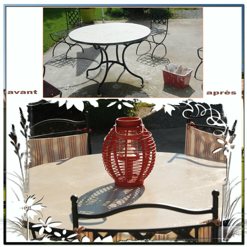 jardin table